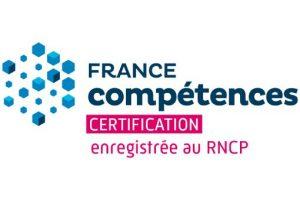 Certification enregistrée au RNCP de France Compétences