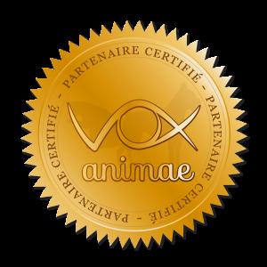 Badge des partenaires du réseau Vox Animae