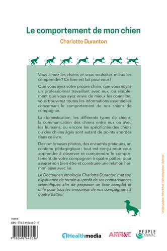 postface le comportement de mon chien - Charlotte Duranton